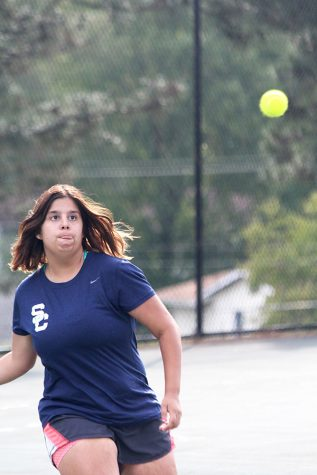 Girls Tennis Wraps Up Season With Tight Schedule