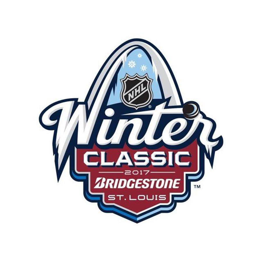 The+St.+Louis+Blues+face+off+against+rivals+Chicago+Blackhawks+at+Busch+Stadium+for+the+Winter+Classic