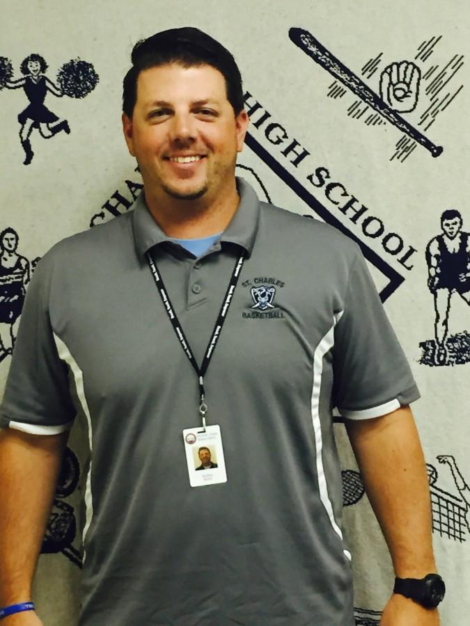 Brad Bichel, the new guidance counselor.