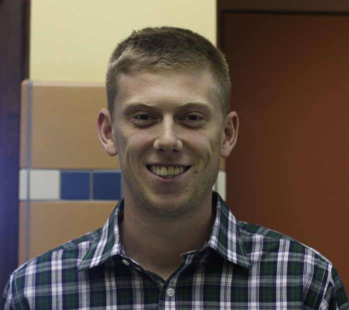 Jake Holtgraewe teaches in the English department
