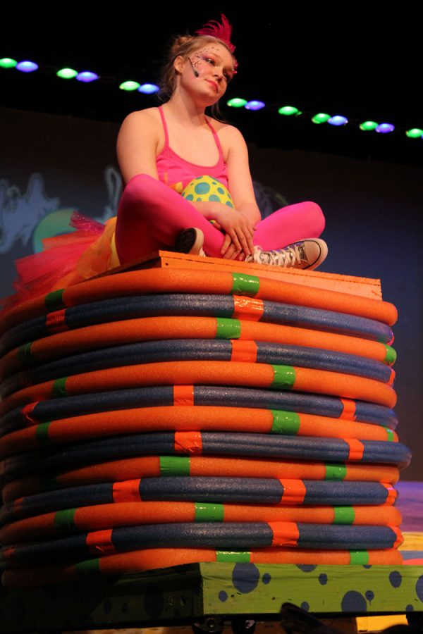 Olivia Pilsing plays in Seussical.