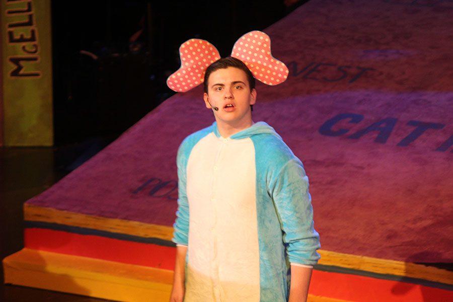 Horton looking very surprised.
