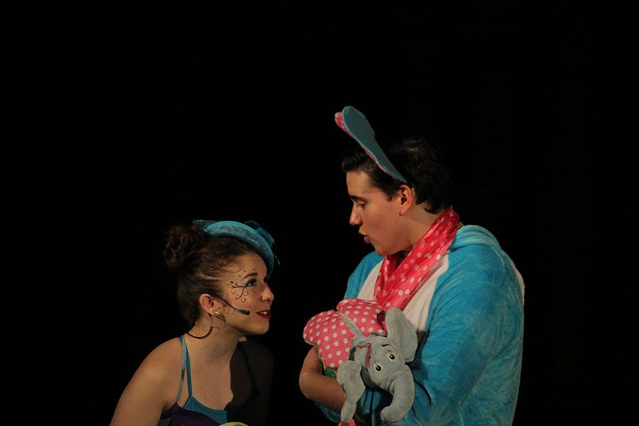 Jacob Welsh plays Horton and Samantha Harris plays Gertrude.