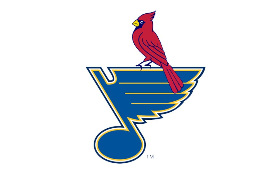 The two teams of St. Louis, the Cardinals and the Blues.