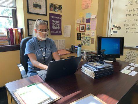Rachel Schmidt is a new special education teacher at High