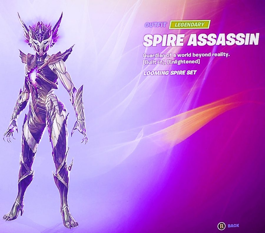 Last Level Character (Main Character of the Battle Pass)