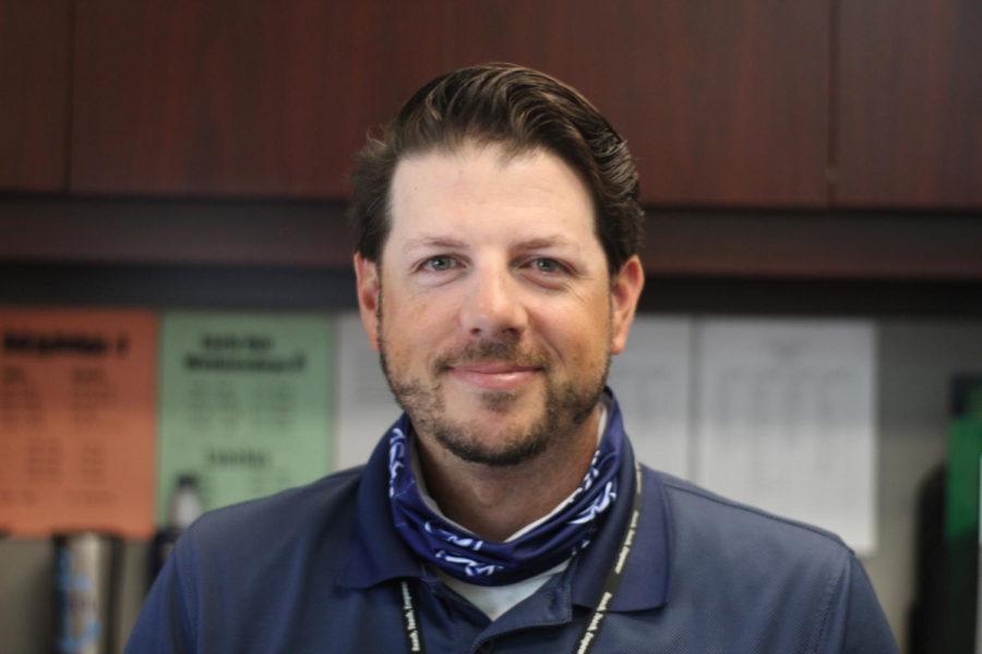 Brad Bichel is the new JV softball coach.