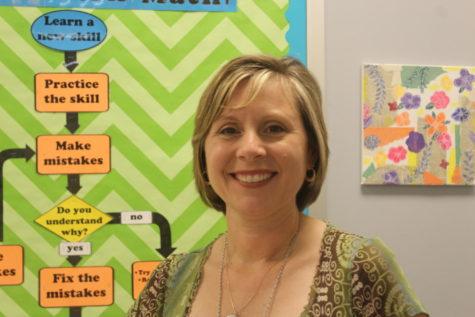 Angela Southard is a new math teacher at High this year