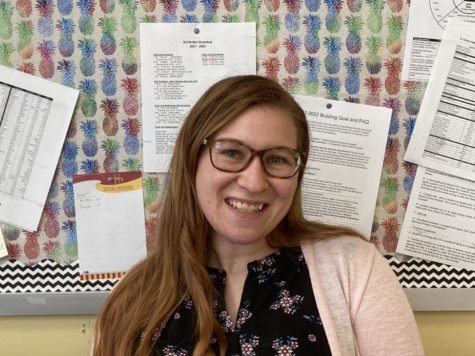 A bright smile from a bright new teacher