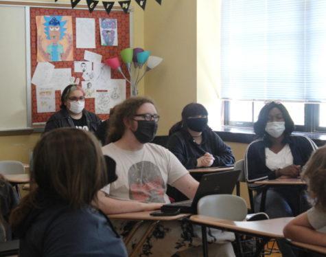 Creative Writing Club in Ms. Ramseys classroom